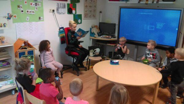 Voorlezen in de Kindertuin